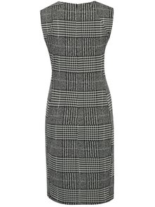 Sivé puzdrové kárované šaty Dorothy Perkins