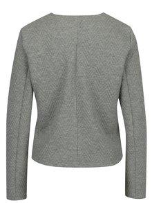 Svetlosivé sako s jemným vzorom VERO MODA Mia