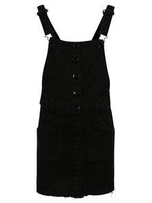Čierna dievčenská rifľová sukňa s trakmi name it Biclik