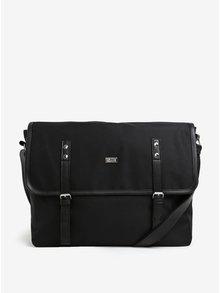 Černá pánská taška Solier