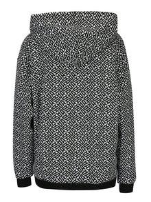 Hanorac alb&negru cu print pentru femei - adidas Originals