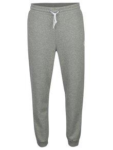 Pantaloni sport gri melanj cu logo pentru barbati - Converse Core