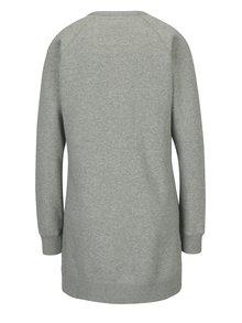 Rochie - pulover gri melanj cu buzunare - Converse Core
