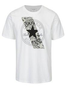 Bílé pánské tričko s krátkým rukávem Converse Chuckpatch