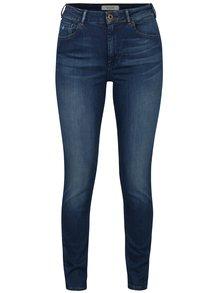 Modré skinny džíny s vysokým pasem Scotch & Soda