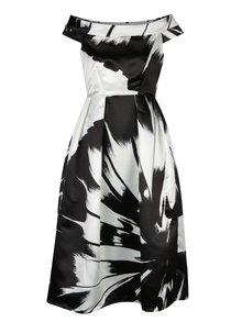 Rochie alb&negru Closet cu decolteu pe umeri