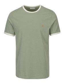 Svetlozelené tričko Farah Groves
