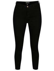 Černé regular fit džíny s vysokým pasem Dorothy Perkins Petite