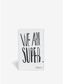 Husa de telefon alba I like Paper We are super