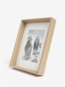 Hnědá dřevěný fotorámeček SIFCON