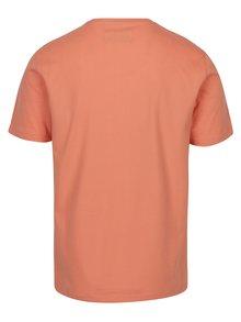 Meruňkové tričko s krátkým rukávem Original Penguin