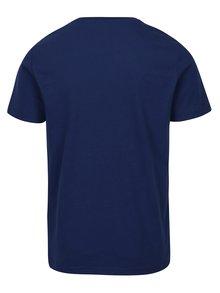 Tmavě modré tričko spotiskem Original Penguin
