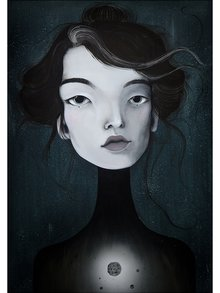 Poster 50x70 cm Portret 3 - Lény Brauner