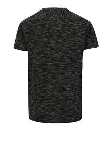 Tmavosivé chlapčenské vzorované tričko LIMITED by name it Nilas