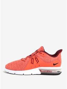 Oranžové pánské tenisky Nike Air Max Sequent 3 Running Shoe