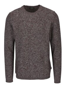 Pulover tricotat bordo - Jack & Jones Originals Uber