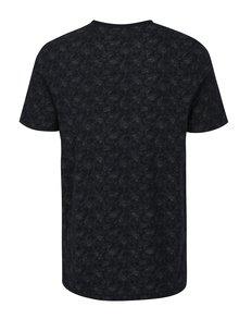 Tricou bleumarin cu print floral - Jack & Jones Vincer