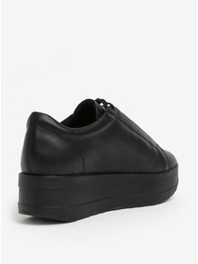 Pantofi sport negri din piele cu platforma pentru femei - Vagabond Casey Sister
