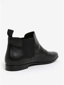 Čierne dámske kožené chelsea topánky Vagabond Marilyn