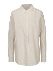 Krémovo-staroružová pruhovaná košeľa Selected Femme Noella