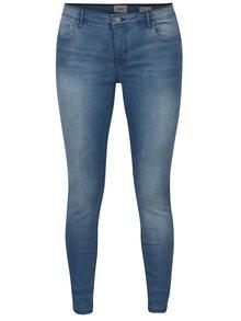 Modré push up skinny fit džíny s nízkým pasem ONLY Allan