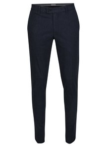 Pantaloni chino bleumarin melanj - Selected Homme Gale