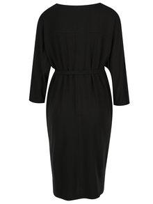 Černé těhotenské šaty s páskem Mama.licious Nania