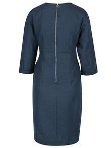 Rochie albastra pentru femei insarcinate - Mama.licious Vintage