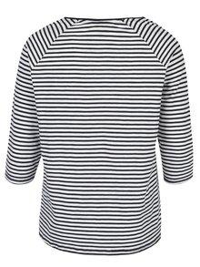 Bílo-modré pruhované regular tričko Ulla Popken