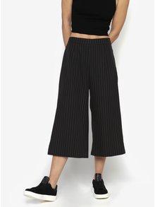 Čierne pruhované culottes MISSGUIDED
