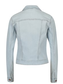 Jacheta scurta bleu din denim - Noisy May Debra