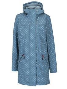 Modrý nepromokavý puntíkovaný kabát Blutsgeschwister