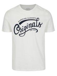 Krémové tričko s potlačou Jack & Jones New Raffa