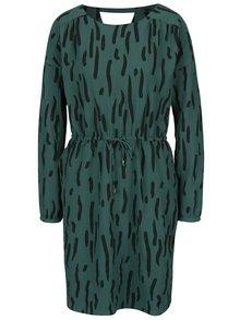 Zelené vzorované šaty VERO MODA Bali
