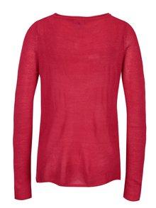 Ružový tenký sveter Yest