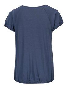 Modré tričko s okrúhlym výstrihom Yest