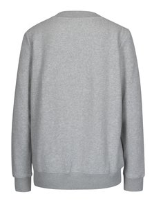 Svetlosivá dámska mikina Calvin Klein Jeans Hondi