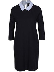 Tmavě modré šaty s límečkem ONLY Sunny