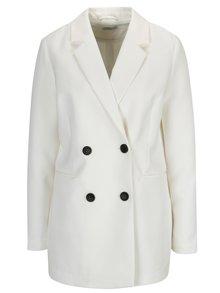 Krémový kabát Jacqueline de Yong Brick