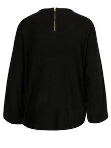 Černý svetr s 3/4 rukávem Jacqueline de Yong Pace