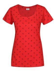 Červené tričko s potiskem Jacqueline de Yong Anina