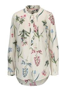 Krémová dámska vzorovaná košeľa Tom Joule Georgina