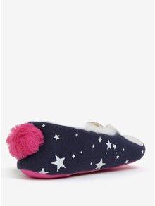 Tmavě modré holčičí papuče Tom Joule Dreama
