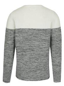 Sivo-krémový sveter Lindbergh