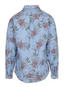 Modrá kvetovaná košeľa Lindbergh