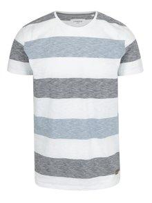 Svetlomodré pruhované tričko Lindbergh