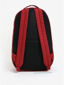 Vínový batoh s detaily v semišové úpravě Puma 22 l
