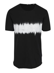 Tricou negru cu print - ONLY & SONS Samuel