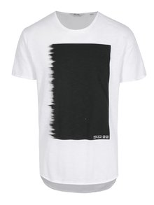 Tricou alb cu print - ONLY & SONS Samuel