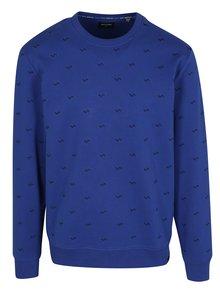 Bluza albastra cu model - ONLY & SONS Kilian